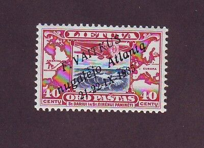Lithuania 1935  F.Vaitkus Transatlantic Flight MNH stamp Mi 404