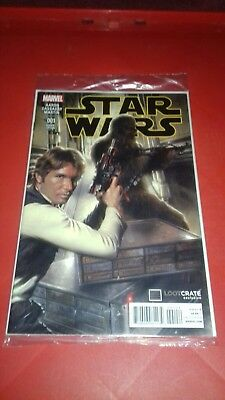 Marvel Star Wars comic book Loot Crate exclusive #1 variant edition