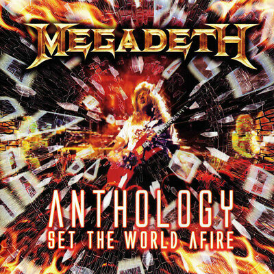 Megadeth ‎– Anthology: Set The World Afire 2 x CD - Metal / Thrash  NEW/SEALED!