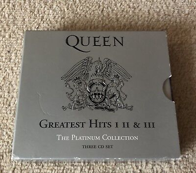 Queen Triple CD Greatest Hits I, II & III The Platinum Collection