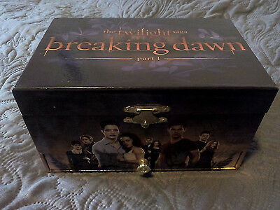 Twilight Schmuckbox mit Spieluhr Edward Cullen Bella Swan breaking dawn new moon