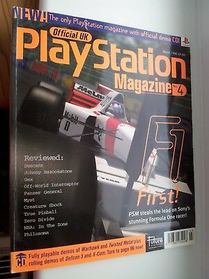 Official UK PlayStation Magazine, Issue no. 4, March 1996