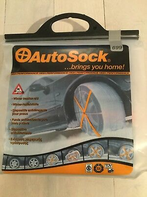 Snow Socks For Tyres, Autosock 699 Brand New Never Used