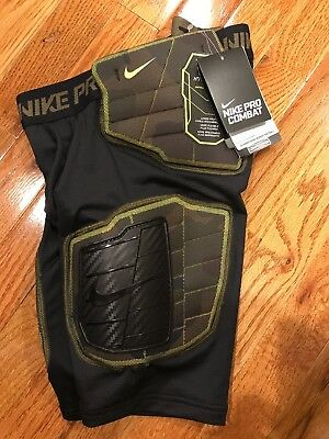 NIKE PRO HYPERSTRONG CORE PROTECTION FOOTBALL SHORTS 845718-100 BOYS SIZE XL