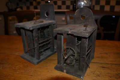 wood framed black forest clock movements for spares/repair