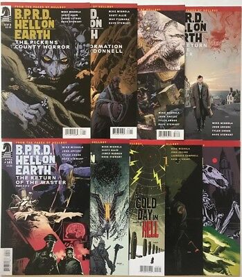 B.P.R.D. #89-116 Lot Of 9 Issues, Dark Horse (2012-'14) 1st Ptg NM