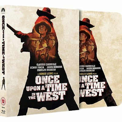 Once upon a Time in the West / Spiel mir das Lied vom Tod - Blu-Ray Steelbook -