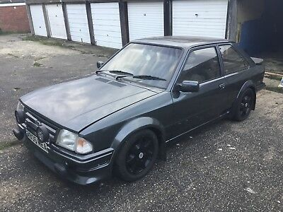 Ford escort mk3 rs1600i with full series 1 conversion