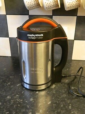 Morphy Richards Soupmaker Stainless Steel