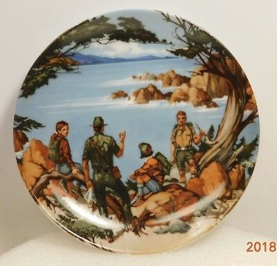 """Small AVON Collector Plate 1985 American Portraits THE WEST Don W. Sheffler 4"""""""