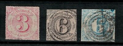 THURN & TAXIS Los  ab € 1.--