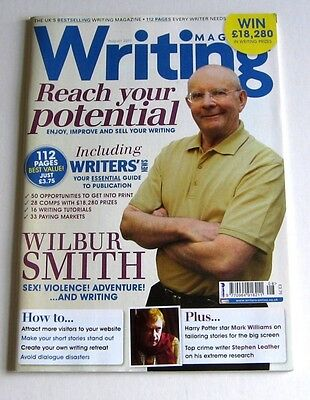 Writing Magazine - August 2011 - Wilbur Smith - Very Good!