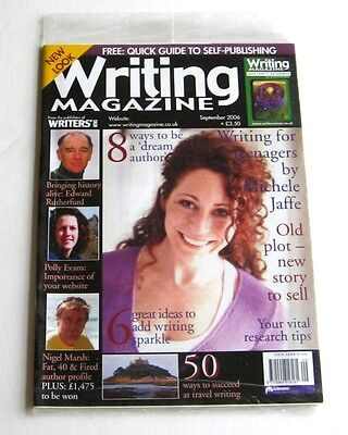 Writing Magazine - September 2006 - Michele Jaffe - New!