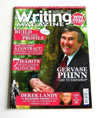 Writing Magazine - December 2010 - Gervase Phinn - Very Good!