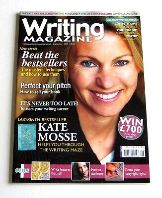 Writing Magazine - September 2009 - Kate Mosse - Very Good!
