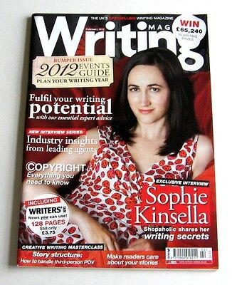 Writing Magazine - February 2012 - Sophie Kinsella - Very Good!