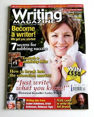 Writing Magazine - December 2009 - Lesley Pearse - Very Good!