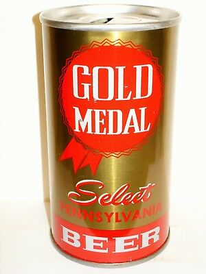 """GOLD MEDAL SELECT """"GOLD MEDAL BREWING"""" S/S Beer Can C267"""
