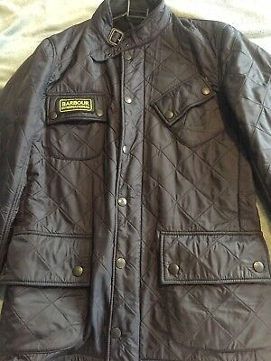 Mens Barbour Jacket Size Small