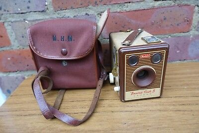 Cased Kodak Brownie Flash B Box Camera