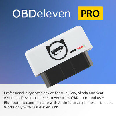 OBDeleven PRO version OBD diagnostic tool for Audi, VW, Skoda, Seat