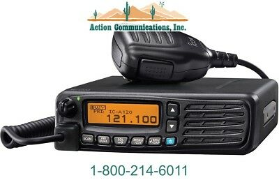 New Icom A120, Vhf Air Band Transceiver With Open Vfo