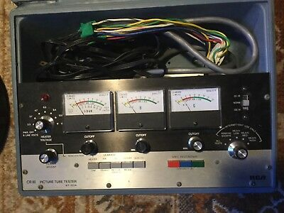 RCA CR III Picture Tube Tester Model WT-333A