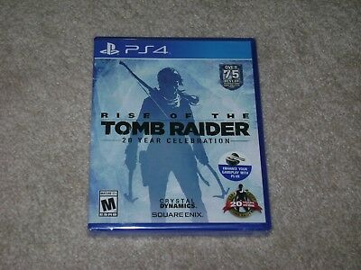Rise Of The Tomb Raider 20 Year Celebration...ps4...***sealed***brand New***!!!!