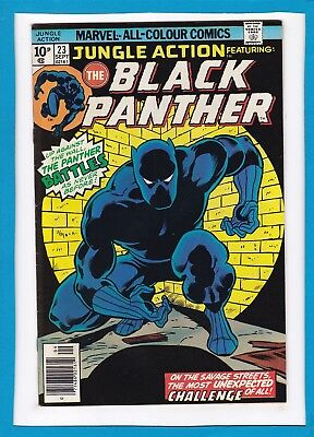 "Jungle Action #23_Sept 1976_Vf+_Black Panther_""the Panther Battles""_Bronze Uk!"