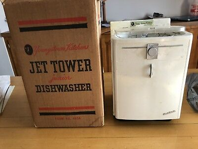 Vintage 1960'S YOUNGSTOWN KITCHEN JET TOWER JUNIOR DISHWASHER SCALE MODEL