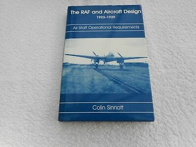 The RAF and Aircraft Design 1923-1939.