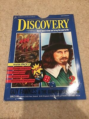 Marshall Cavendish Discovery Magazine Guy Fawkes Issue 2 Unused Mint Contents