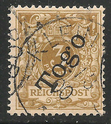 German Colony Togo Scott   1a  Used