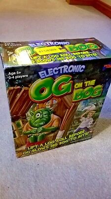 Og on the Bog - Electronic Game complete & boxed by Drumond Park. Buckaroo