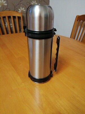 Thermos Thermocafe Stainless Steel Flask 1 Litre