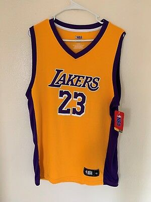 LeBron James Los Angeles Lakers Fanatics Branded TX3 COOL Mens jersey NWT 7a13973ca