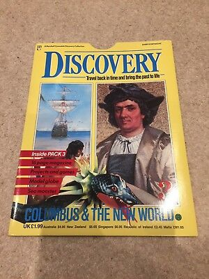 Marshall Cavendish Discovery Magazine Christopher Columbus Issue 3 Mint Contents
