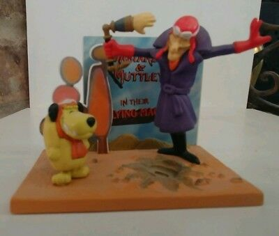 .99 Cent Moving Sale Hanna Barbera Wacky Races Dick Dastardly Figure Muttley