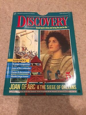 Marshall Cavendish Discovery Magazine Issue 5 Joan Of Arc Unused Mint Contents
