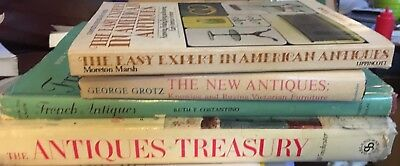 Lot of 4 Books on Antiques FRENCH VICTORIAN AMERICAN