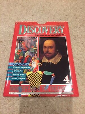 Marshall Cavendish Discovery Magazine Issue 4 William Shakespeare & The Theatre