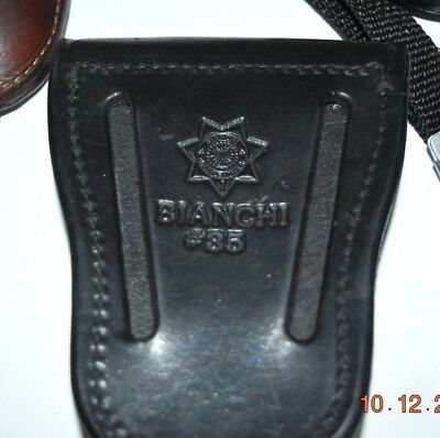 Bianchi Covered Cuff Case Leather Model #35