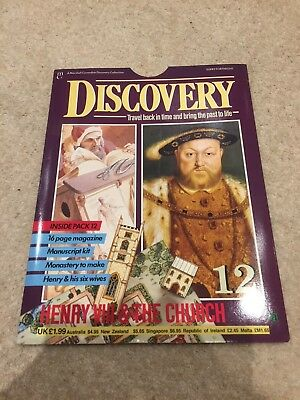 Marshall Cavendish Discovery Magazine Issue 12 Henry VIII Mint Contents