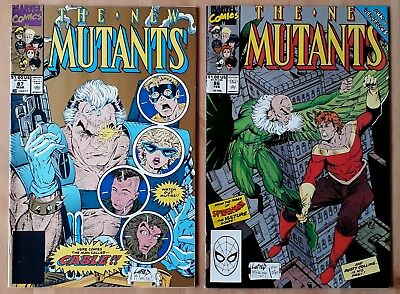 New Mutants 86, 87 (1990: 1st Cable and 1st Liefeld)