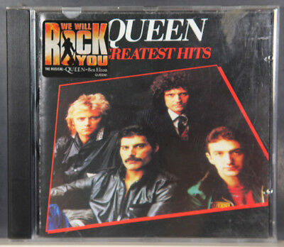 Queen ‎– Greatest Hits(CD, 1994)  (Box C664)
