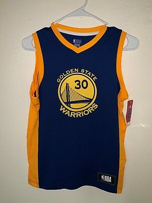 37fa91f25 Stephen Curry Golden State Warriors Fanatics Branded TX3 COOL (Youth)  jersey NWT