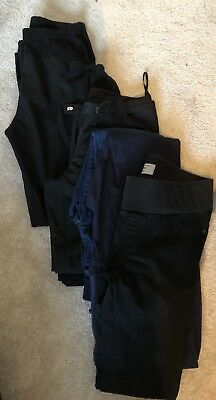 Maternity Trousers Blouse Tops Clothes Bundle Size 8 Small