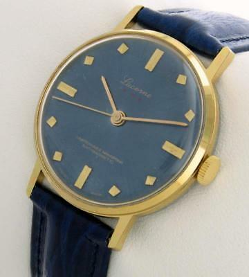Vintage Swiss Watch hand-winding 1970 new old stock NOS