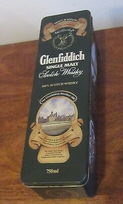 Glenfiddich Special Old Reserve Hinged Tin Empty Box