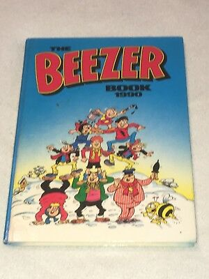"""Vintage """" The Beezer Book """" Dated 1990 Unclipped"""